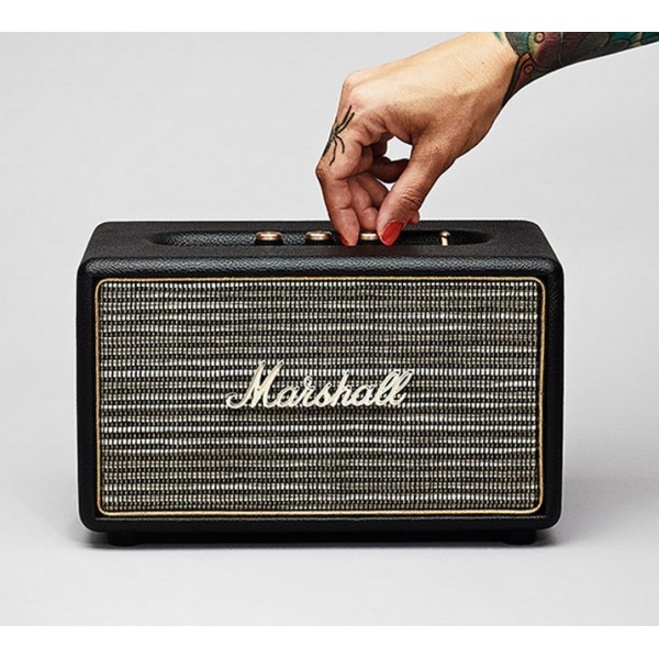 MARSHALL ACTON SPEAKER BLUETOOTH BLACK
