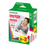 FUJIFILM INSTAX MINI FILM PACK 20 INSTANT PHOTO
