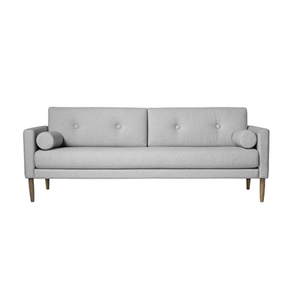BLOOMINGVILLE CALM SOFA COTTON LIGHT GRAY