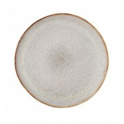 BLOOMINGVILLE SANDRINE PLATE STONEWARE GREY SET OF 4
