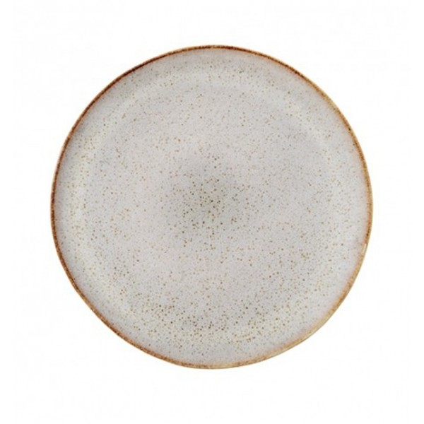 BLOOMINGVILLE SANDRINE PLATE STONEWARE GREY