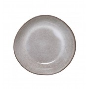 BLOOMINGVILLE SANDRINE PASTA PLATE STONEWARE GREY SET OF 4