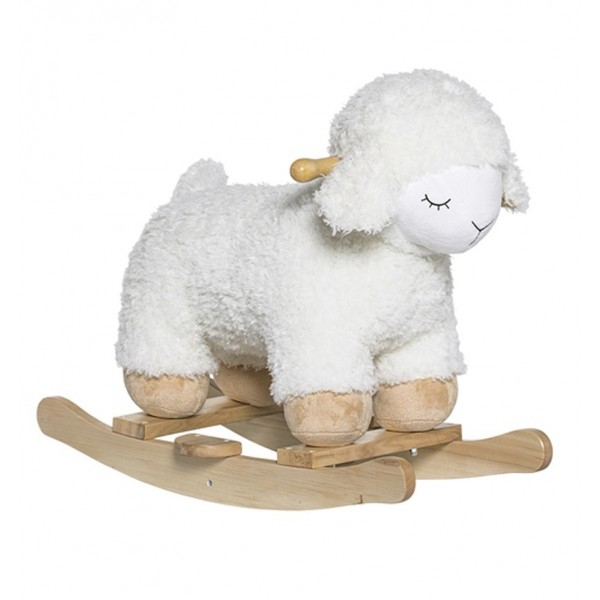 BLOOMINGVILLE WHITE ROCKING SHEEP