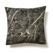 KOZIEL MARBLE ANTHRACITE CUSHION