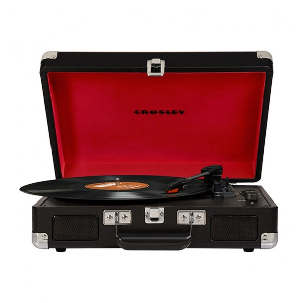 CROSLEY TURNTABLE CRUISER DELUXE BLACK