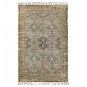 HK LIVING PRINTED OVERDYED RUG