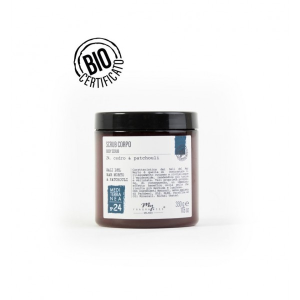 MY FRAGRANCES BODY SCRUB CEDRO-PATCHOULI