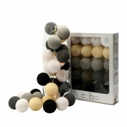 COBO LIGHT GARLAND GRAPHITE