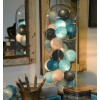 COBO LIGHT GARLAND TURQUOISE