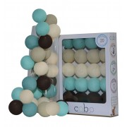 COBO LIGHT GARLAND ZAFFIRO