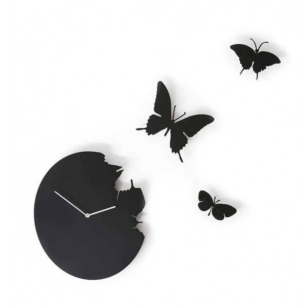 DIAMANTINI & DOMENICONI WALL CLOCK BUTTERFLY