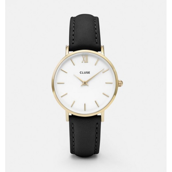 CLUSE MINUIT GOLD WHITE/BLACK