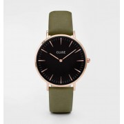 CLUSE LA BOHÈME ROSE GOLD BLACK/OLIVE GREEN