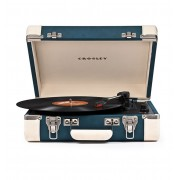 CROSLEY TURNTABLE EXECUTIVE BLUE/CREAM