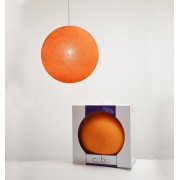 COBO SUSPENSION LAMP ORANGE