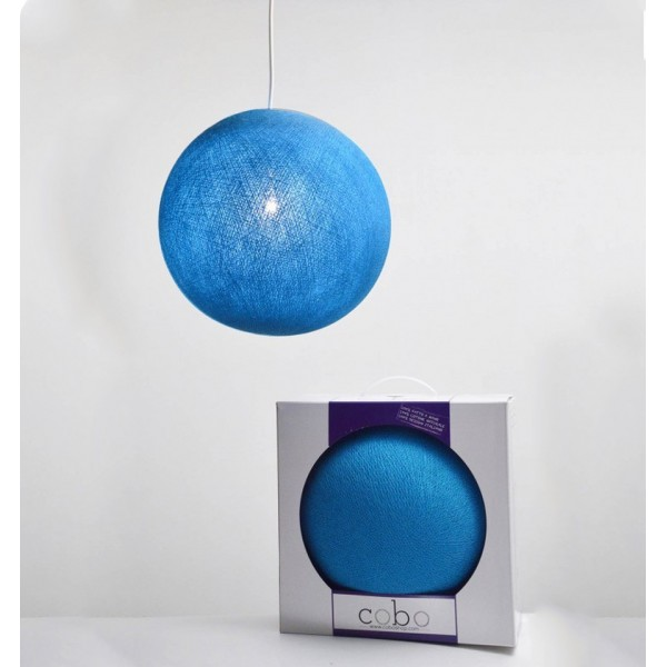 COBO SUSPENSION LAMP BRIGHT BLUE