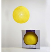 COBO SUSPENSION LAMP YELLOW