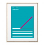 IMAGE REPUBLIC POSTER 30X40 MIAMI VICE