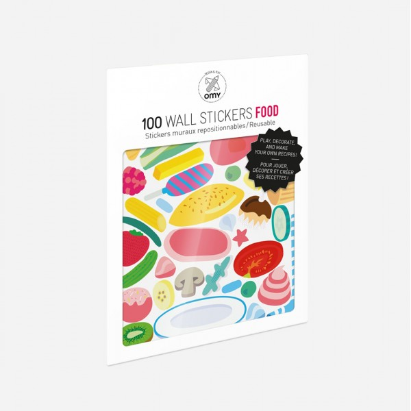 OMY WALL STICKERS FOOD