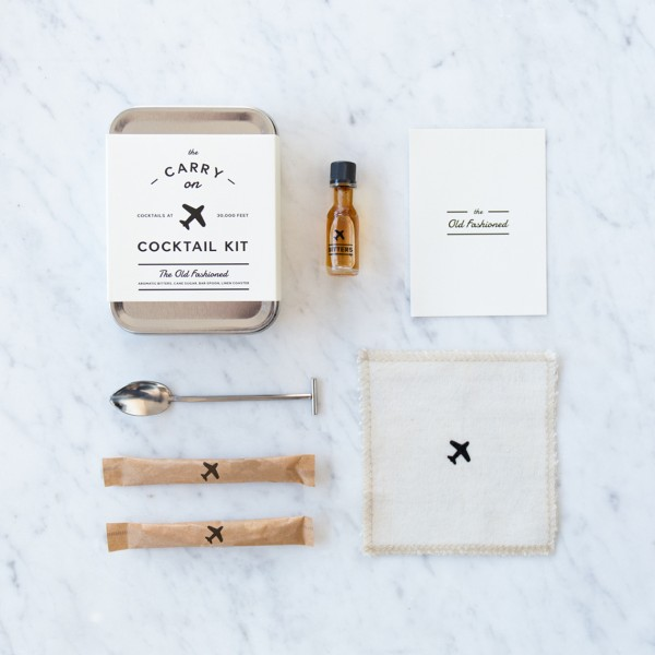 MEN'S SOCIETY COCKTAIL KIT OLD FASHIONED