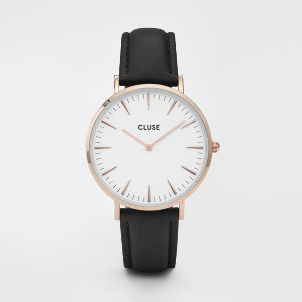 CLUSE LA BOHÈME ROSE GOLD WHITE/BLACK