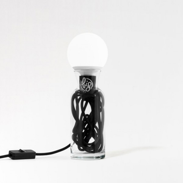 BIG DESIGN PULSE LAMP BLACK