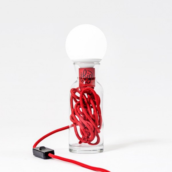 BIG DESIGN PULSE LAMP ROSSO