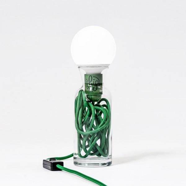 BIG DESIGN PULSE LAMP VERDE