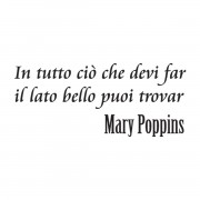 DECORAMO ADESIVO MURALE MARY POPPINS
