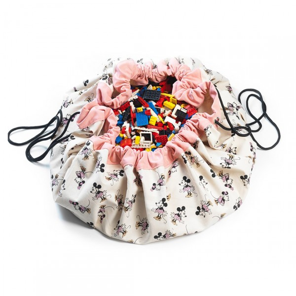 PLAY&GO MINNIE GOLD SHOES TOY STORAGE BAG