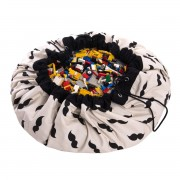 PLAY&GO MR.MOUSTACHE TOY STORAGE BAG