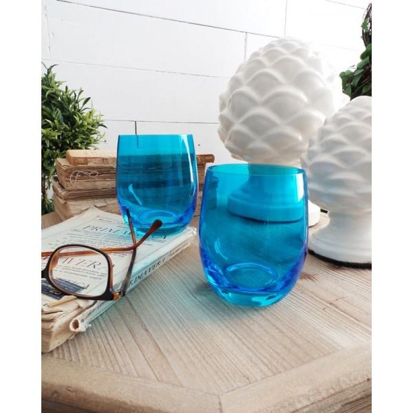 ORCHIDEA BLUE GLASS WATER