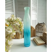 ORCHIDEA BLUE GLASS JAR