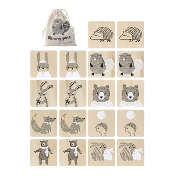 BLOOMINGVILLE MEMORY GAME