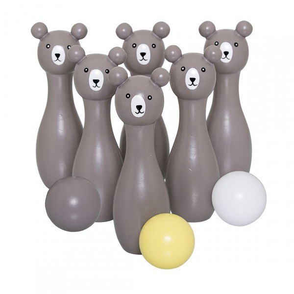 BLOOMINGVILLE PLAY SET BOWLING GREY LOTUS
