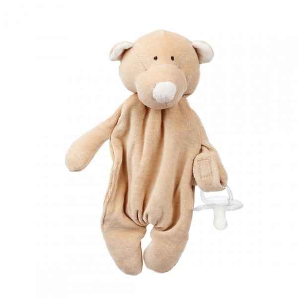 WOOLY ORGANIC PUPAZZO CONSOLATORE ORSO TEDDY