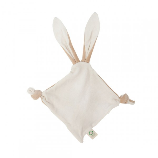 WOOLY ORGANIC COMFORTE WITH CRINKLE BUNNY EARS AND TEETHING RING