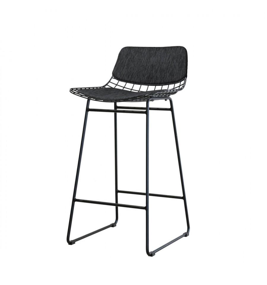 Strange Hk Living Wine Bar Stool Black Ncnpc Chair Design For Home Ncnpcorg