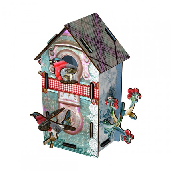 MIHO BIRDHOUSE SMALL TAKE OFF