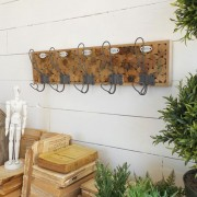 ORCHIDEA CLOTHES HANGER NATURAL WOOD