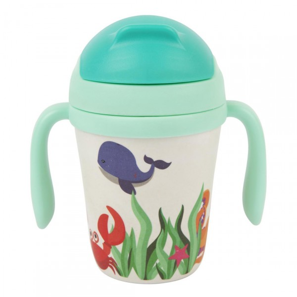 SUNNYLIFE ECO KIDS SIPPY CUP WONDERLAND