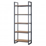 IDI STUDIO BOOKCASE FENDY 2 DOORS 2 OPNE SHELVES