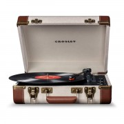 CROSLEY LETTORE VINILE EXECUTIVE LINO/MARRONE