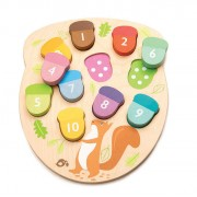 TENDER LEAF TOYS GIOCO DEI NUMERI HOW MANY ACORNS?
