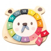 TENDER LEAF TOYS GIOCO DELL'OROLOGIO BEAR COLORS
