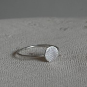AMEJEWELS RING MOON IN SILVER 925