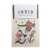 INKID TEMPORARY TATTOOS SHARK