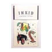 INKID TEMPORARY TATTOOS SNAKE