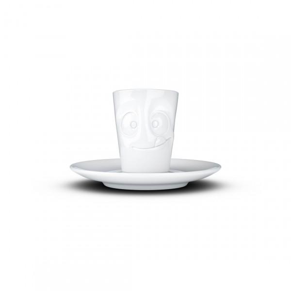 TASSEN ESPRESSO CUP CHEERY WHITE