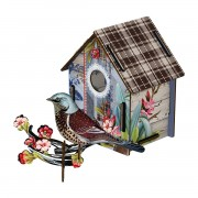 MIHO BIRDHOUSE SMALL ENJOY THE CRUMBS